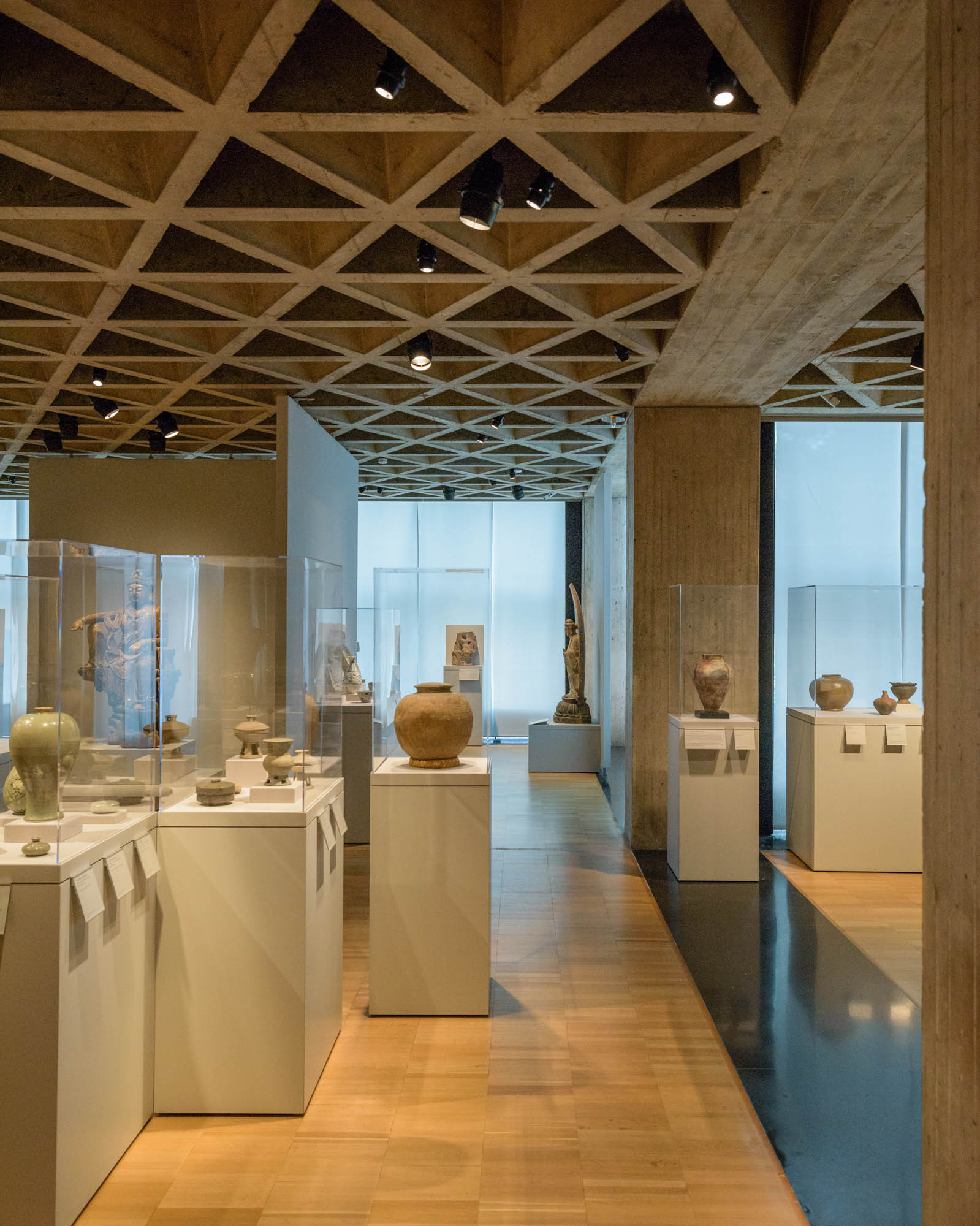 Ad Classics Yale University Art Louis Kahn - 13