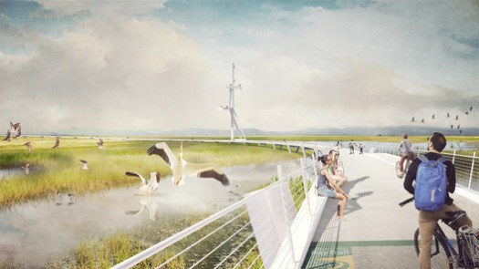 The Grand Bayway - Common Ground. Image Courtesy of Resilient by Design