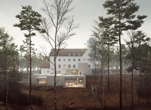 Exterior Visualization. Image Courtesy of Transborder Studio