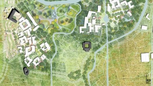 Masterplan. Image Courtesy of Stefano Boeri Architetti