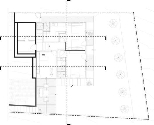 Planta_Baja PS House / Guillot Arquitectos Architecture