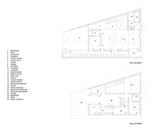 First and Second Storey Plans