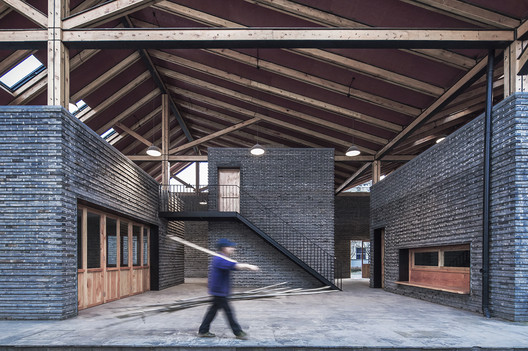 03_photographer_Zhao_Yilong Dongziguan Villagers' Activity Center / gad x line+ studio Architecture