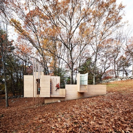 Five Fields Play Structure / FR|SCH Projects in collaboration with Matter Design. Image © Brandon Clifford