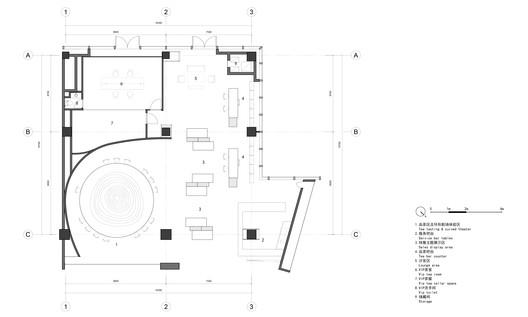 alibaba_plan TEA MASTER / kooo architects Architecture