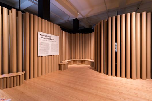 DHMD_Raum_4_2 Kéré Architecture Designs Sceneography for Exhibition on Racism Architecture