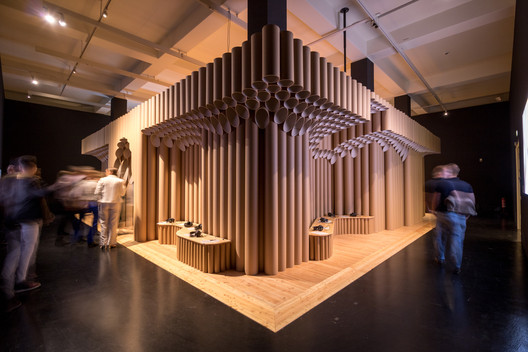 DHMD_Raum_4_1 Kéré Architecture Designs Sceneography for Exhibition on Racism Architecture