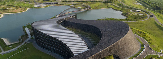 03_Palace_Museum_Southern_Branch_Arial_view-close_up Southern Branch of Taiwan Palace Museum / KRIS YAO | ARTECH Architecture