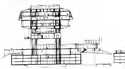 clorindo_testa_corte The Importance of the Section in Architectural Representation and Practice Architecture