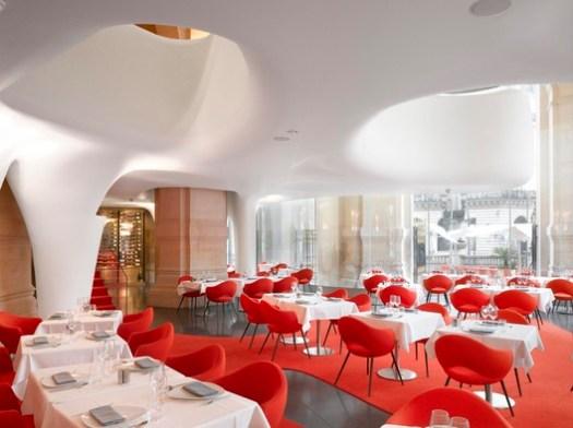 Phantom - Opera Garnier Restaurant. Image © Roland Halbe