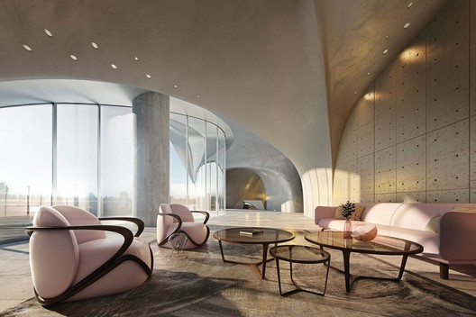 LOBBY_02_AF_V3_preview.jpeg This Cave-Like Luxury Apartment is Planned for Australia's Gold Coast Architecture