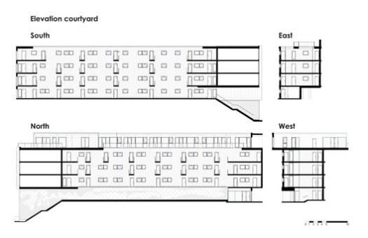 Courtyard Elevations