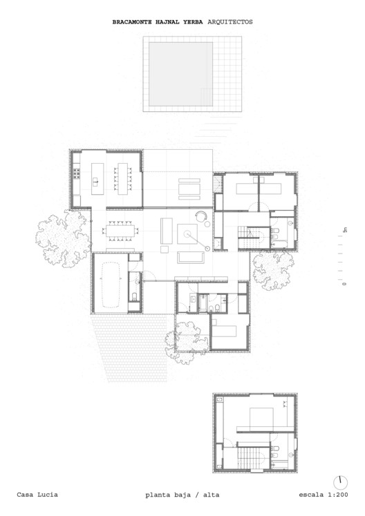 Lower + Upper floor plans