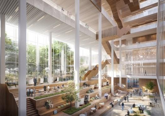 Lobby. Image Courtesy of Schmidt Hammer Lassen
