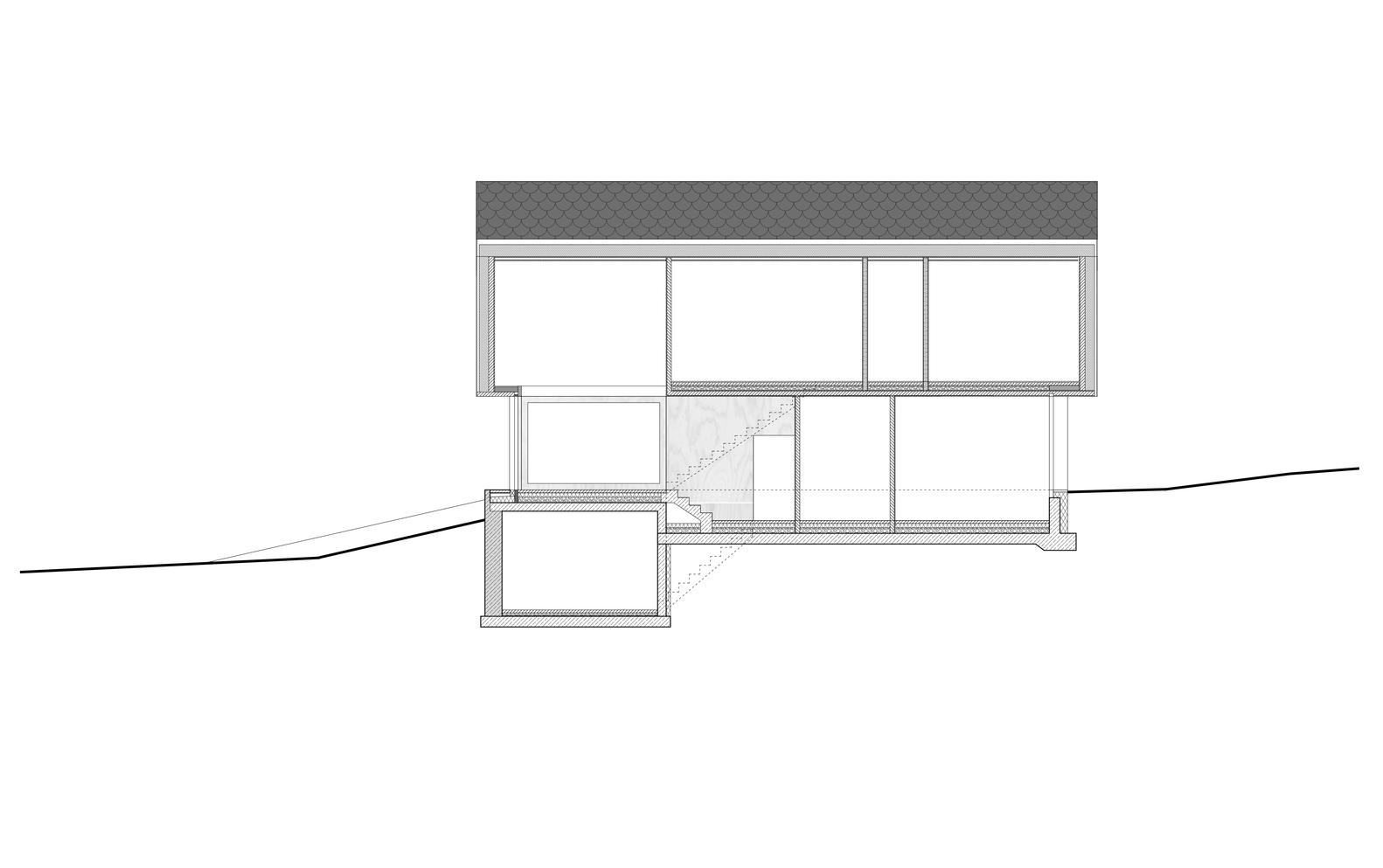 medium resolution of house with gable mia2 architektur