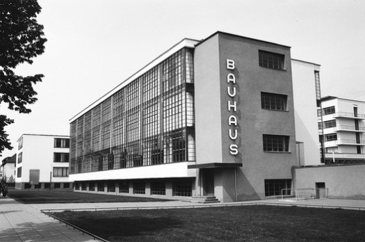 Bauhaus Dessau. Image © Nate Robert via Flickr Licença CC BY-SA 2.0