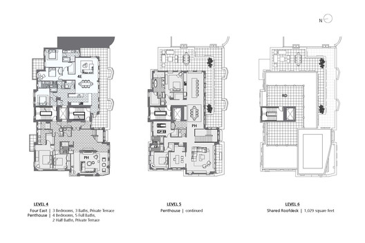 Level 4, 5 and 6 Plans