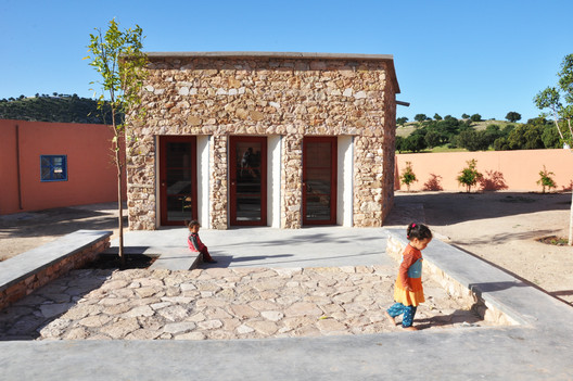 EXT6_credits_Tommaso_Bisogno Preschool of Aït Ahmed / BC architects & studies + Tommaso Bisogno Architecture