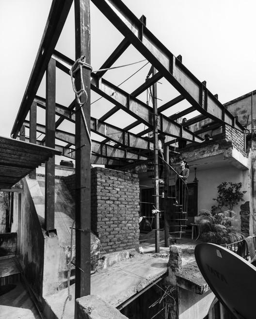 01 The Garden Roof Parasol / Harsh Vardhan Jain Architect Architecture