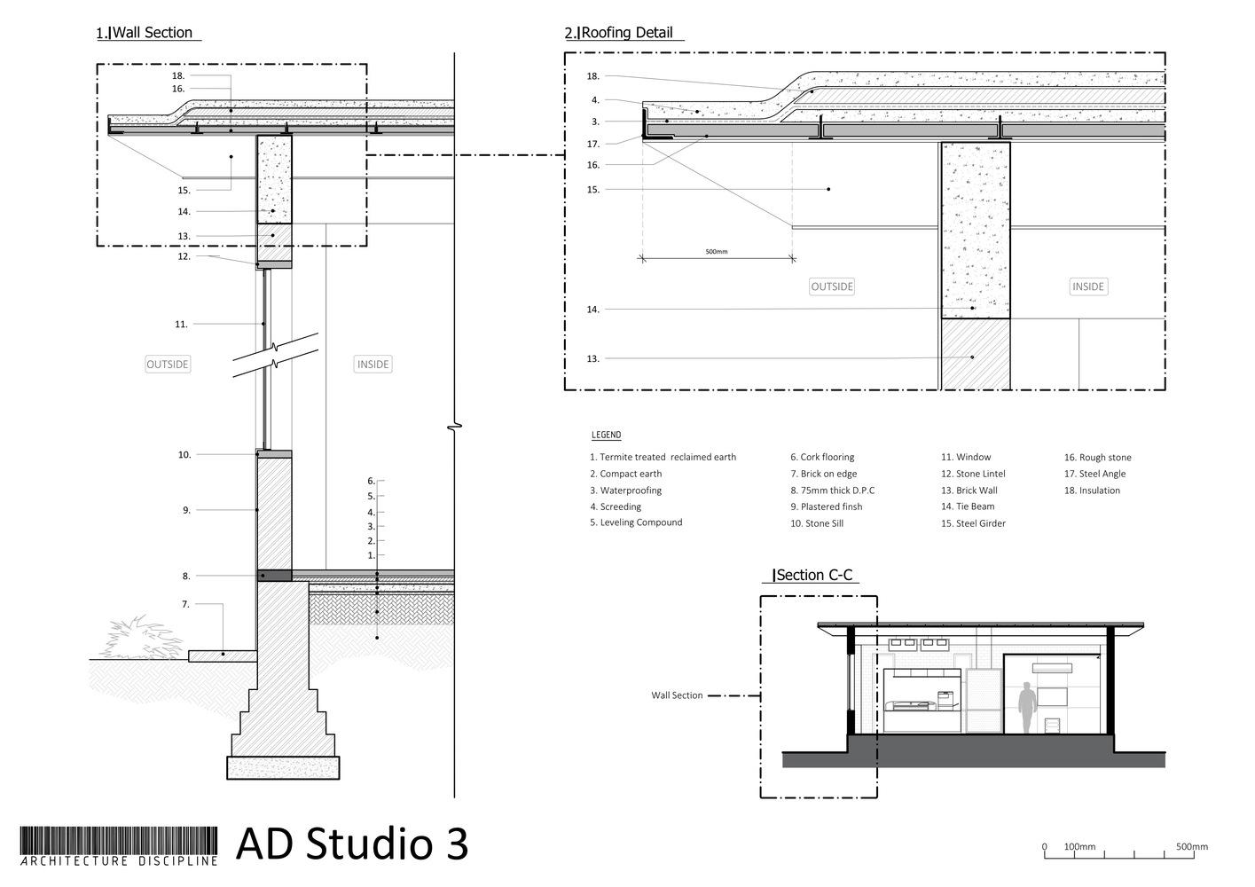 hight resolution of studio 3 architecture discipline
