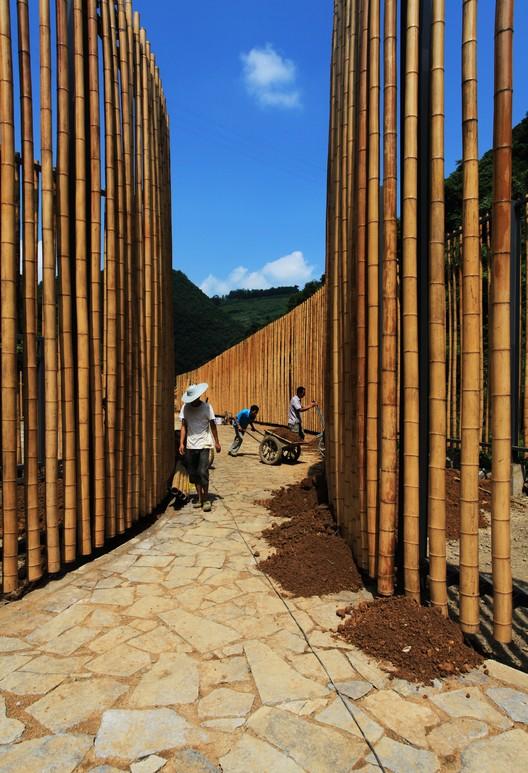 Construction process. Image © Guangyuan Zhang