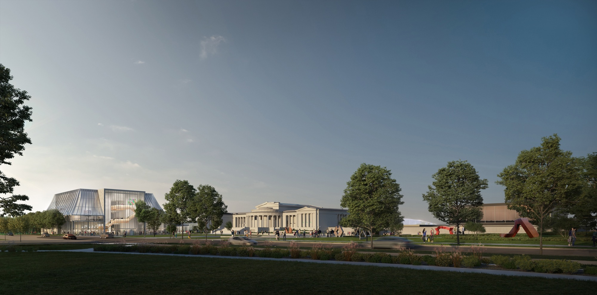 Oma Releases Of Albright-knox Art Expansion