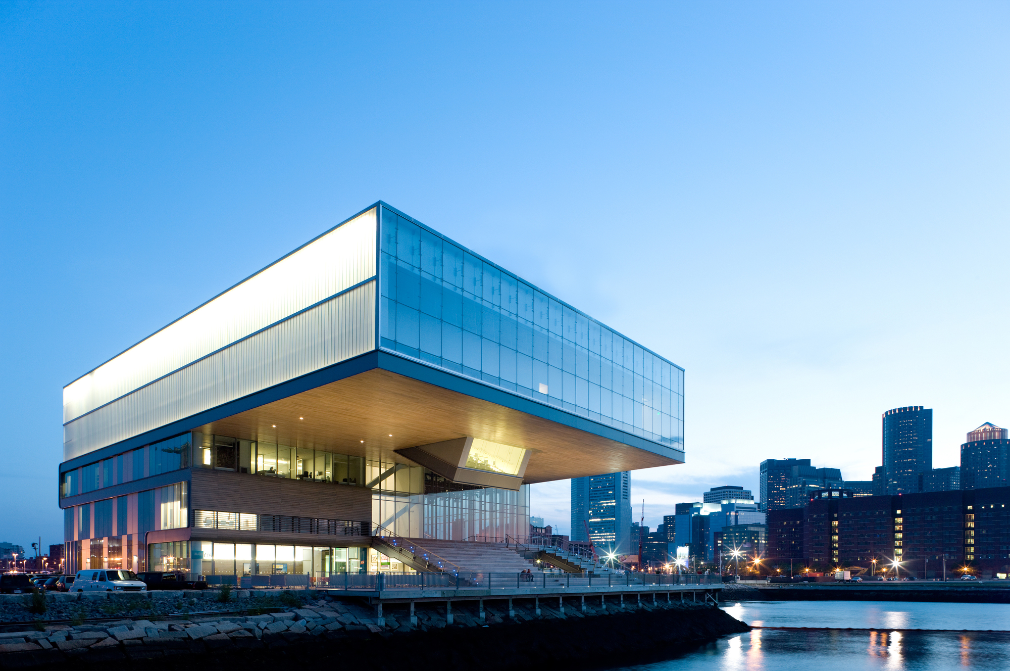 Institute Of Contemporary Art Diller Scofidio Renfro Archdaily