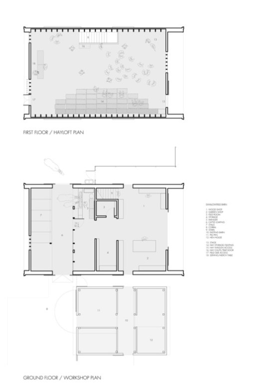 Swallowfield Barn Plans