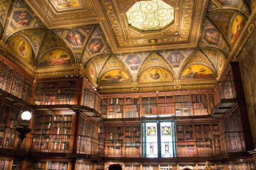 The Morgan Library and Museum. Image © <a href='https://upload.wikimedia.org/wikipedia/commons/9/9f/Morgan_Library_%26_Museum%2C_New_York_2017_25.jpg'>Mike Peel</a> licensed under <a href='https://creativecommons.org/licenses/by-sa/4.0/'>CC BY-SA 4.0</a>