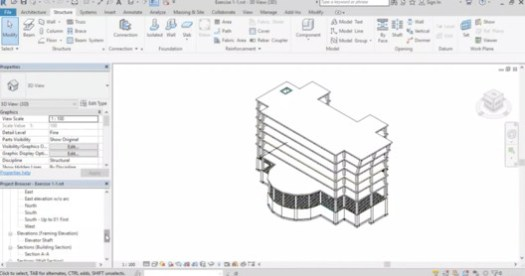 via Revit Structure 2018 from Zero to Hero / Udemy.com