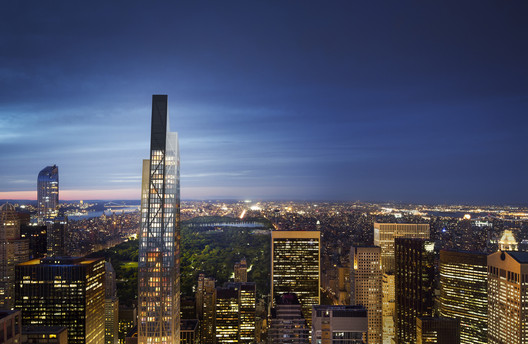 2._5W53_Central_Park_night_view Jean Nouvel Predicts 53 West 53rd Will Transform New York City's Iconic Skyline Architecture