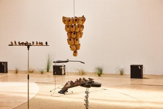 """""""fluides"""" by Celeste Boursier-Mougenot. Image © Laurent Lecat and LVAN"""