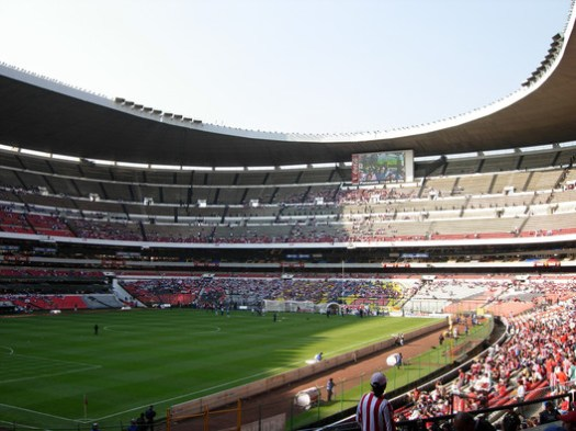 © <a href='https://commons.wikimedia.org/wiki/File:Estadio_Azteca_07a.jpg'>Jymlii Manzo</a> licensed under <a href='https://creativecommons.org/licenses/by/2.0/'>CC BY 2.0</a>