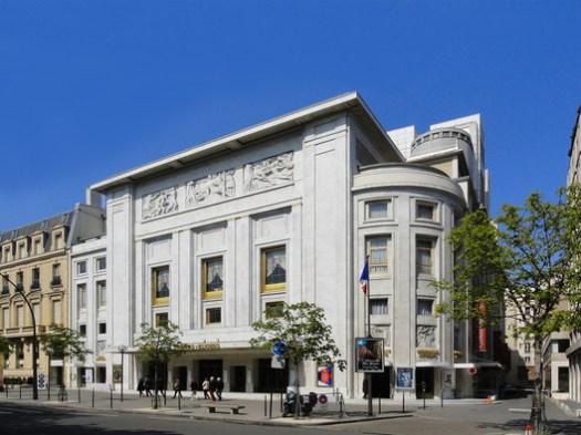 Théâtre des Champs-Élysées, Paris. © Coldcreation, via Wikimedia. License CC BY-SA 3.0