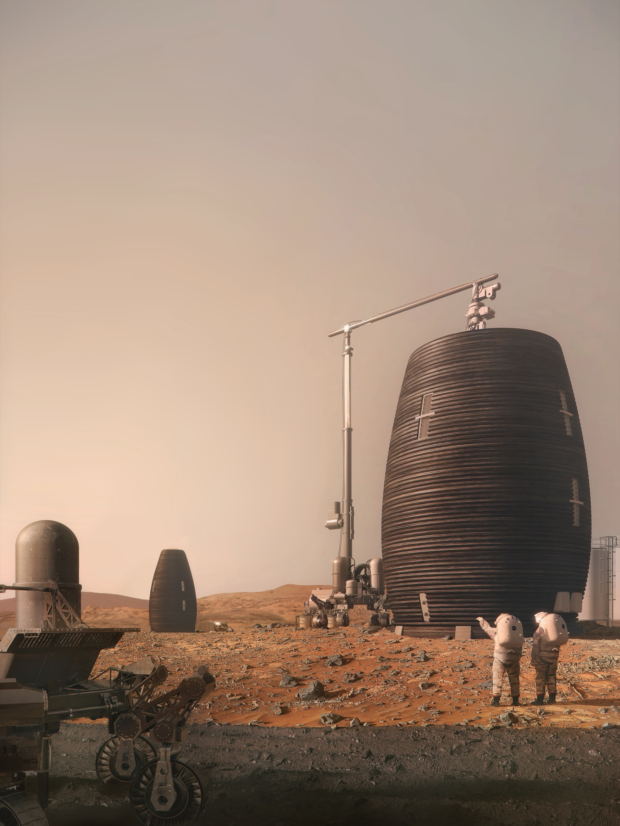 Gallery of NASA Endorses AI SpaceFactorys Vision for 3D Printed Huts on Mars  2