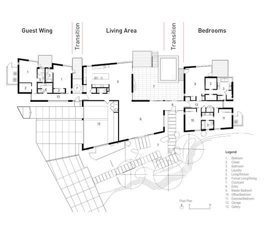 Plan Casa De Plegado / Rob Paulus Architects Architecture