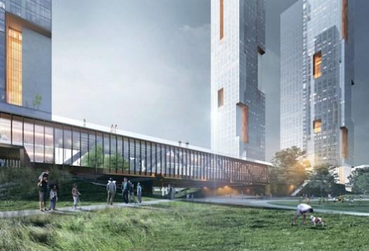 Minsk Hills / Sergey Skuratov Architects. Image Courtesy of Sergey Skuratov Architects
