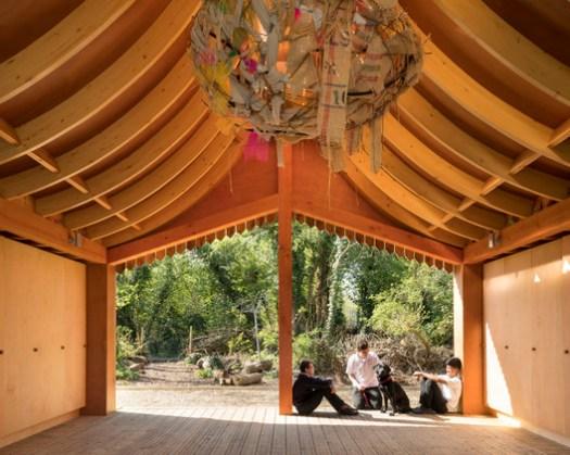 Belvue School Woodland Classrooms, London / Studio Weave Ltd. Image © Jim Stephenson
