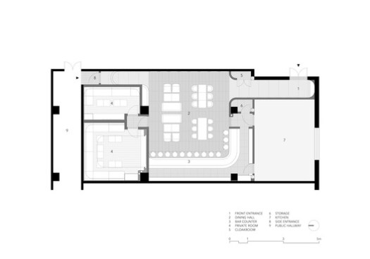 Plan. Image Courtesy of Imafuku Architects