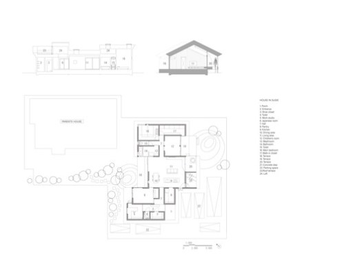 Plan + Section