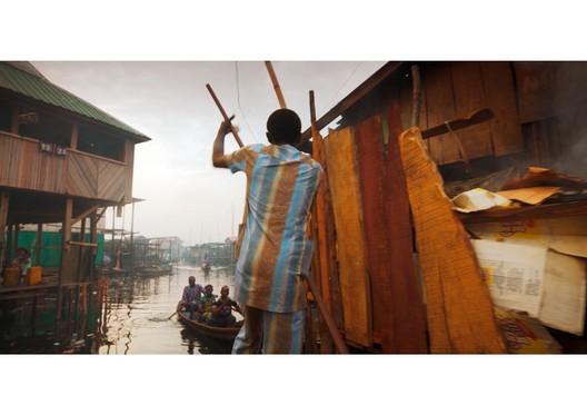 Lagos. The Human Shelter. Image Courtesy of Boris Bertram