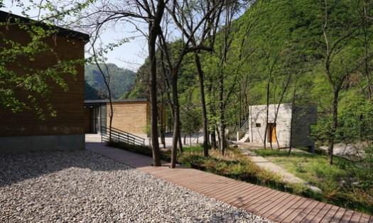 Settlement Among Landscape. Image © Qili Yang