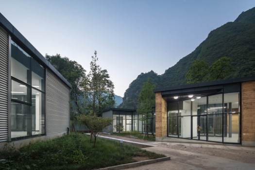 Settlement among Landscape. Image © Chao Zhang