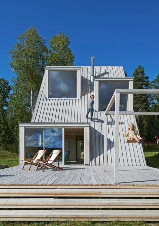 Summer House in Dalarna / Leo Qvarsebo. Image Courtesy of Leo Qvarsebo