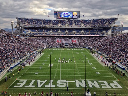 3. Beaver Stadium / State College PA, USA. Image courtesy of flickr user drocpsu. Licensed under CC BY-NC-ND 2.0