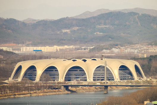 1. Rungrado 1st of May Stadium / Pyongyang, North Korea. Image via Viktoria Gaman / Shutterstock.com