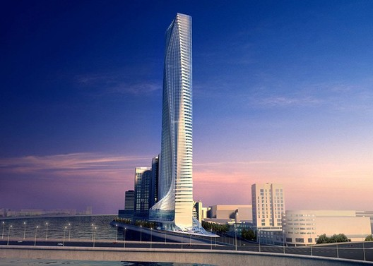 Nile Tower by Zaha Hadid