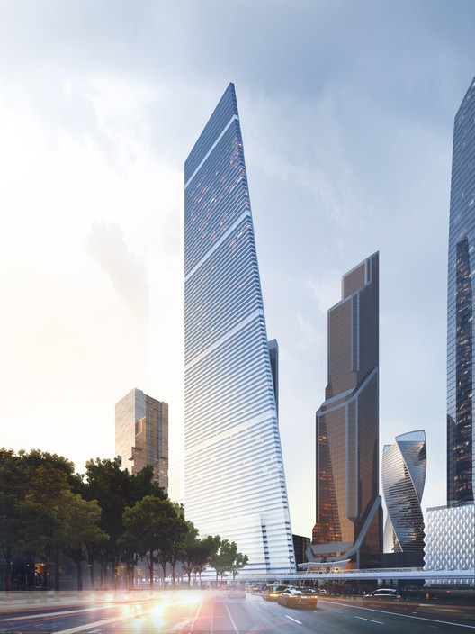 Moscow Supertall by Sergey Skuratov Architects