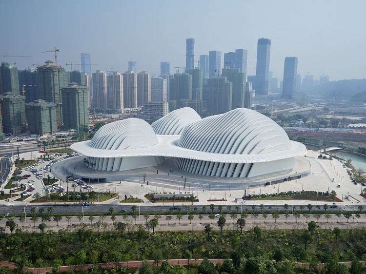 Guangxi Culture  Art Center gmp Architects ArchDaily