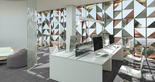 Blloku Cube. Image Courtesy of Stefano Boeri Architetti
